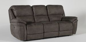 Grey Power Recliner Sofa for Sale in Tempe, AZ