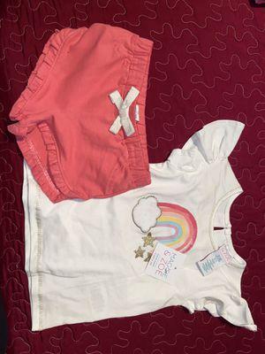 Maggie & Zoe brand baby girls 2pc set for Sale in Costa Mesa, CA