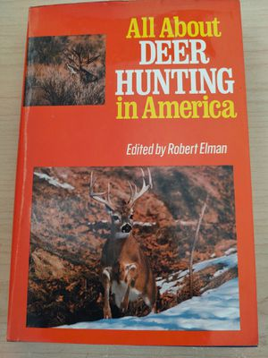 All about Deer Hunting in America by Elman, Robert for Sale in Wakeman, OH