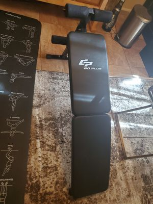 Weight bench, roman chair for Sale in Tampa, FL