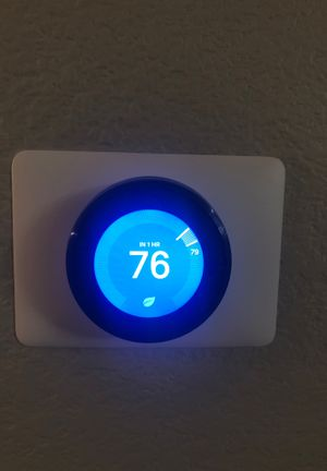 Nest Thermostat - 3rd Gen - Black - Trade Only for Sale in Laveen Village, AZ