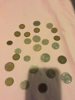 German marks and French frank coins $$. AVAILABLE FOR SALE TO SERIOUS COIN COLLECTORS for Sale in Falls Church, VA