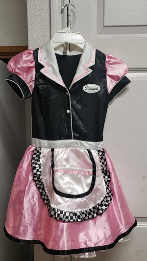 Girls dinah waitress costume for Sale in San Antonio, TX