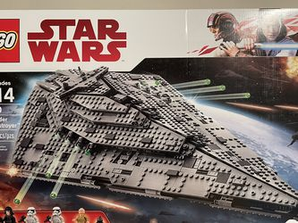 New LEGO 75190 Star Wars First Order Star Destroyer (Retired) for Sale in Selma,  AL