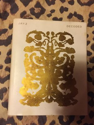 Jay-Z Decoded Book for Sale in Adelphi, MD