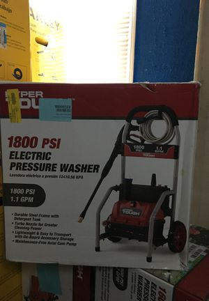 Hyper Tough 1800 PSI Electric Pressure Washer for Sale in Detroit, MI