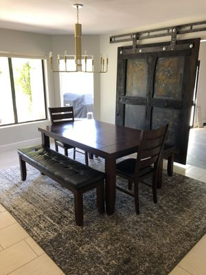 Wood Dining Room Table for Sale in Scottsdale, AZ