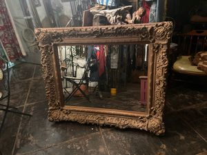 Antique wood mirror for Sale in Los Angeles, CA