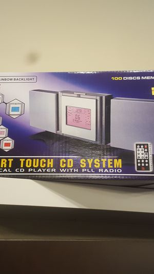 New Smart Touch CD system vertical CD player with radio for Sale in Oak Park, IL