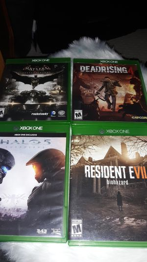 Games for xbox one and 360 for Sale in Brooklyn Park, MN