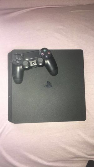Black slim PS4 with controller- Sony for Sale in Firestone, CO