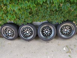 """16×9"""" XXR Rims and tires 4×100 for Sale in Chicago, IL"""
