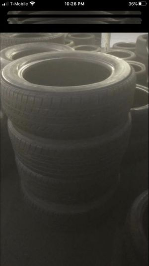 Tires set of four 225/60/18 Toyo 75% tread for Sale in Temecula, CA