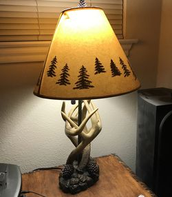 DEEER HORN LAMP for Sale in Austin,  TX