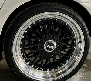 """BBS replica rs style 20"""" wheels & tires for Sale in Dedham, MA"""