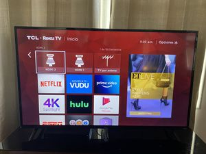 Televisión TCL 55'' for Sale in Zephyrhills, FL