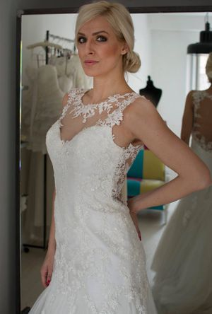 Demetrios wedding dress for Sale in Falls Church, VA