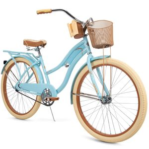 """Huffy 26"""" Womens Nel Lusso Cruiser Bike with Perfect Fit Frame, Blue for Sale in Elmira, NY"""