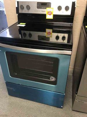 Whirlpool Electric Stove 🙈✔️⏰⚡️🍂🍂🔥😀🙈✔️⏰⏰⚡️🍂🔥😀🙈✔️⏰⚡️ Appliance Liquidation!!!!!!!!!!!!!!!!!!!!!!!!!!!!! for Sale in Austin, TX