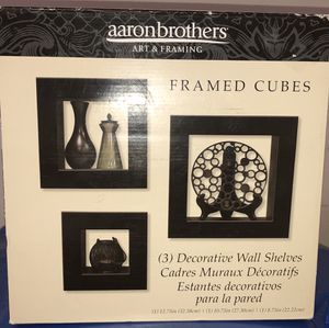 NEW decorative wall shelves (Set if 3) for Sale in Henderson, NV