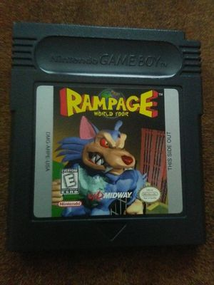 Rampage World Tour Nintendo Game Boy for Sale in Oshkosh, WI