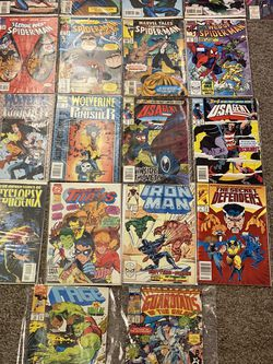 Lot Of Mostly Marvel Comic Books Never Taken Out Of Plastic ... I Don't Even Know How To Price This, So Just Reach Out, And Well Talk for Sale in Delray Beach,  FL