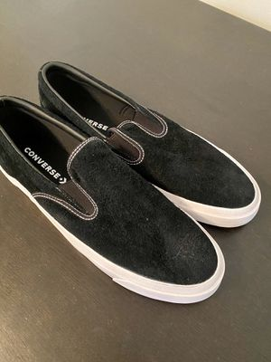 Men's suede slip on Vans, size 13 for Sale in Lakeland, FL