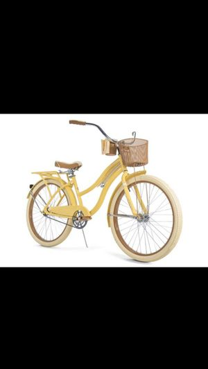 "Huffy Nel Classic Cruiser Bike 26"" yellow for Sale in Orlando, FL"