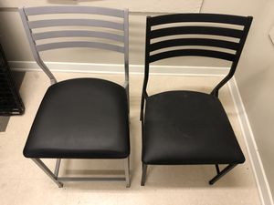 Modern desk chair and low bar height chair for Sale in Nashville, TN
