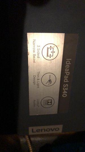 Lenovo ideapad s340 laptop for Sale in Nashville, TN