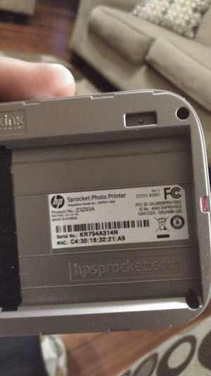 HP sprocket photo printer for Sale in Decatur, IL