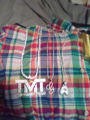 Polo shirt, jelwery, dog cage, shoes everything new or best offer for Sale in Beaumont, TX