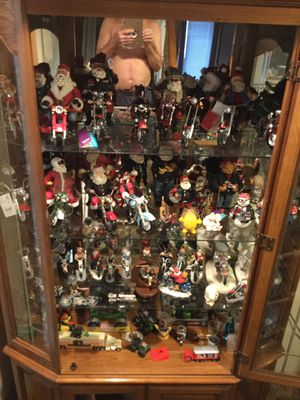 Curio and all the collectables $700 for Sale in Forest Hill, MD