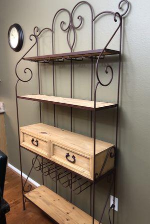 Like new! Gorgeous baker's rack for Sale in Spring, TX