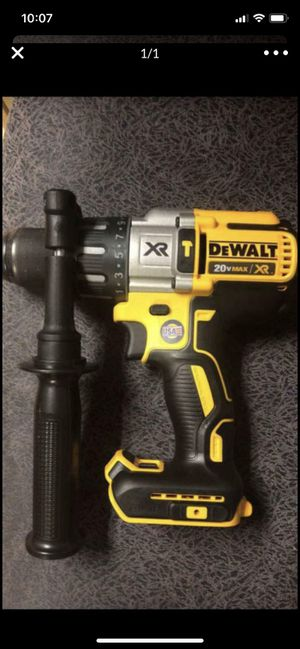 20v New Dewalt XR Brushless Hammer Drill--Tool Only!!! for Sale in Garland, TX