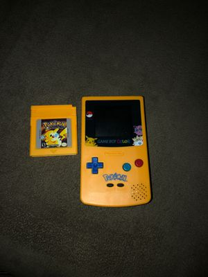 Gameboy Color Special Edition ( with game) for Sale in Hemet, CA