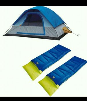 Camping set, tent, bag for 2 people-High Peak-brand new for Sale in Fort Lauderdale, FL