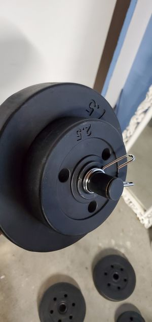 Adjustable dumbbell weights for Sale in San Carlos, CA