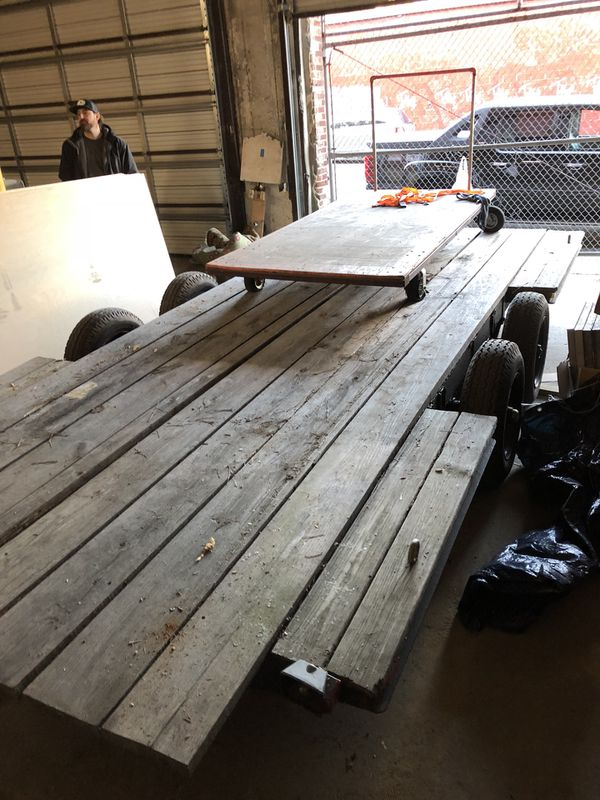 2 Axle Heavy - DutyTrailer for Sale- Great Condition