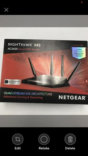 NETGEAR Nighthawk ac2600 for Sale in MENTOR ON THE, OH