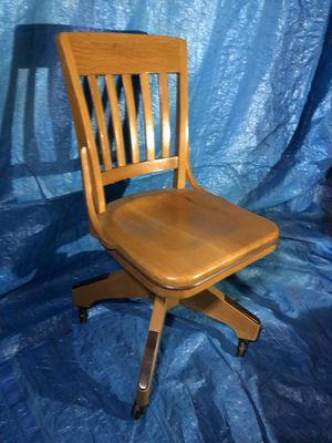 Antique Milwaukee chair co. office chair for Sale in E RNCHO DMNGZ, CA