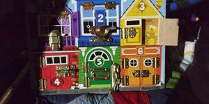 Cute kids puzzle game w real locks switches 4dol firm lots deals my post go look for Sale in Jupiter, FL
