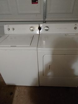 Matching Roper Washer  Dryer Delivered Today for Sale in Simpsonville, SC