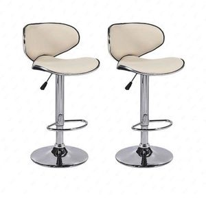 Brand new 2 cream bar stools ( shipping is available ) for Sale in Orlando, FL
