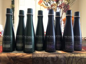 8 nexxus shampoo (non-negotiable) $5 each or $35 take all for Sale in Riverside, CA