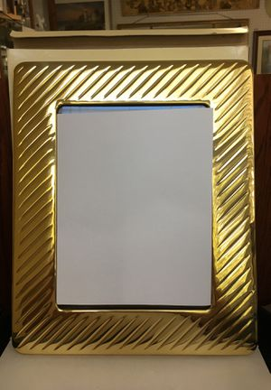 """Solid brass photo frame lacquer finish for 8 x 10"""" picture for Sale in Longwood, FL"""