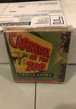 8mm Carnival at the Zoo good condition Castle Films for Sale in OLD ORCHD BCH, ME