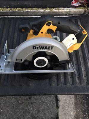 "New dewalt 20v max circular saw 6-1/2"" tool only for Sale in Norwalk, CA"