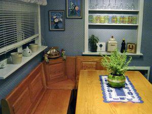 Breakfast Nook Solid Oak Storage Under Seats - $250 for Sale in Columbus, OH