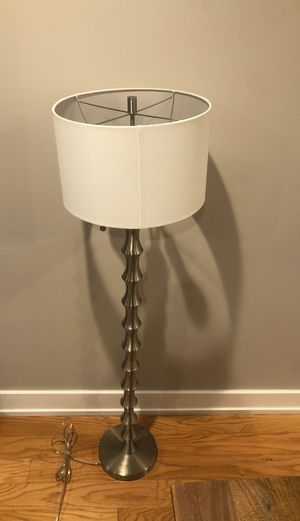 Standing Lamp with Shade for Sale in Philadelphia, PA
